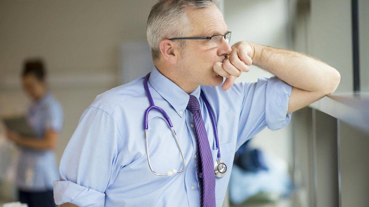 épuisement des médecins-medical rh